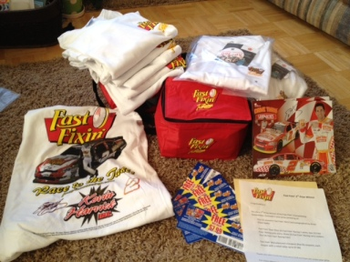 My prize from the Fast Fixin's Sweepstakes!!