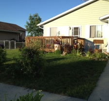 There is joy in a job well done!  I love the way my yard looks when it's freshly mowed.