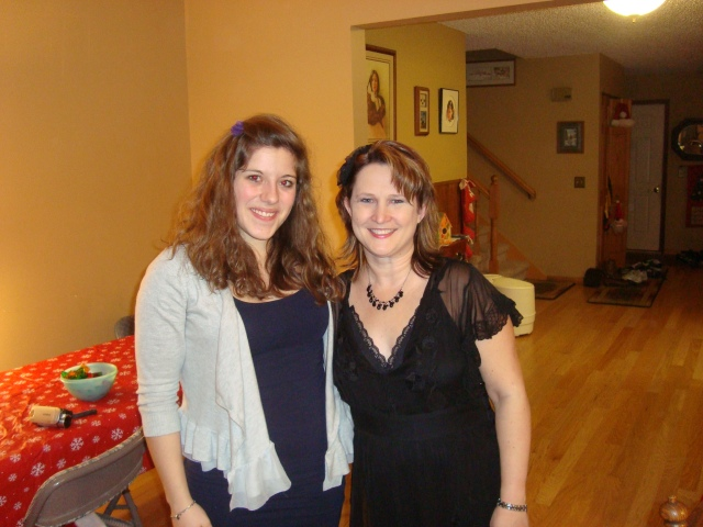 Celebrating Christmas with Muriel in 2011