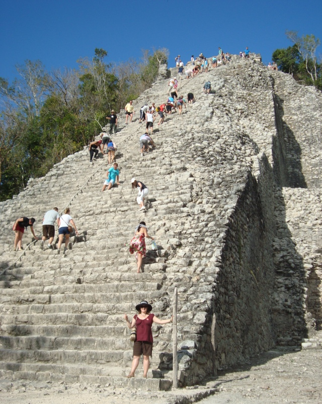 With the Coba Ruins, just like with many things in my life, I told myself I could do it and I did it! It's all about giving ourselves good messages!