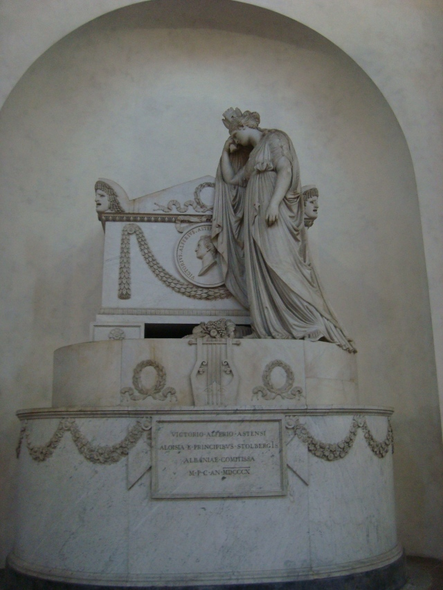 Tomb of Victorio Alferio Astensi, Italian Dramatist and Poet- Florence, Italy