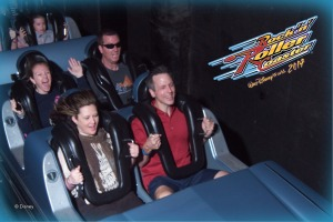 Riding the Rock-n-Roller Coaster at Disney Hollywood Studios