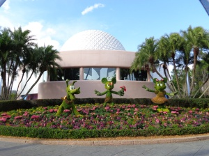 Topiaries at Epcot during the 2014 Flower and Garden Festival
