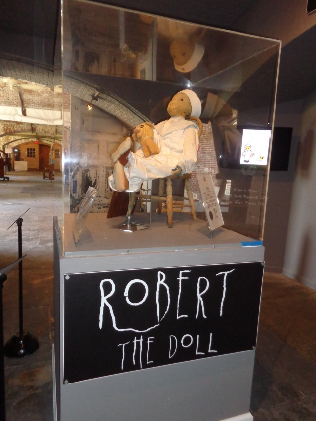WordPress Weekly Photo Challenge: Containers - Beware of Robert The Doll!